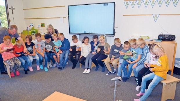 Schule bindet iPads in Digitalunterricht ein