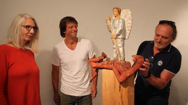 Bildhauer zeigen in Vechta feine Kunst mit der Kettensäge