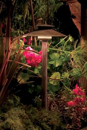 LED-Beleuchtungen sind besonders energiesparend und langlebig - eine gute Wahl für den Außenbereich. Foto: djdwww.rainpro.de
