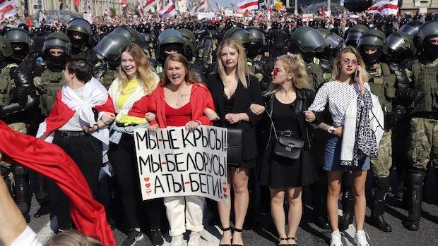 """""""Die Belarusen brauchen jetzt Solidarität"""""""