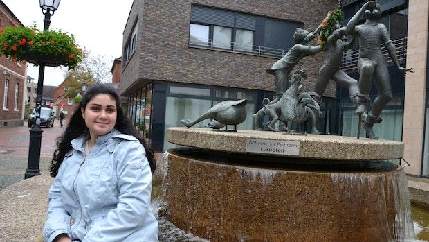 Syrerin ist in Löningen angekommen