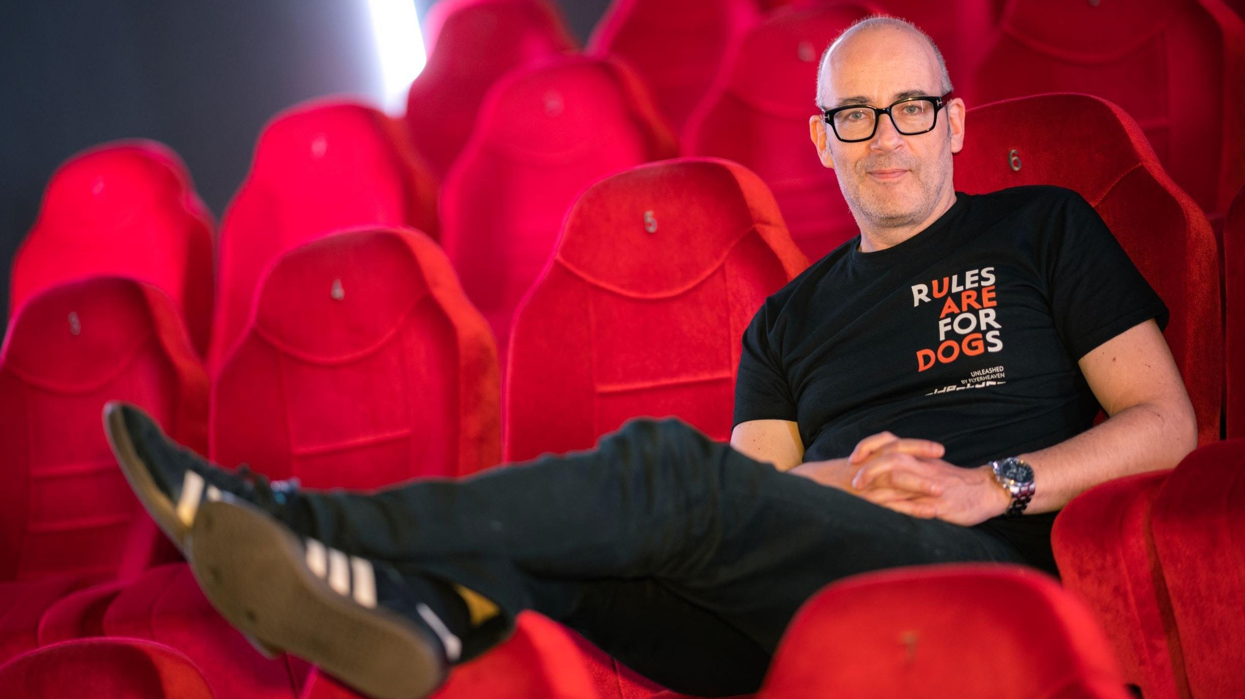 """""""Es wird ein Abenteuer"""", sagte Torsten Neumann, Leiter des Internationalen Filmfests Oldenburg. Foto: dpa/Assanimoghaddam"""