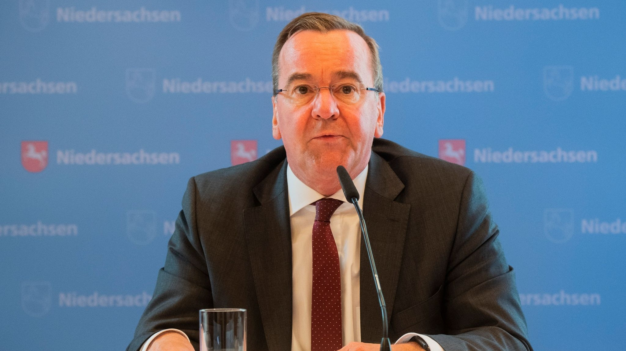 Niedersachsens Innenminister Boris Pistorius (SPD). Foto: dpa