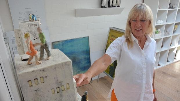 Künstlerin öffnet ihre Werkstatt
