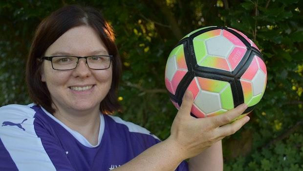Fußball ist Jessica Wildmanns Leidenschaft