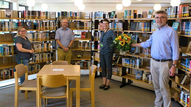 Anke Lammers verlässt die Bücherei
