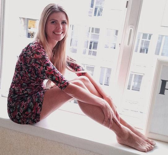 Erfahrungen mit dem Modelbusiness hat Kristin Kruthaup nicht. Sie sei aber schon öfter angesprochen worden, berichtet sie. Foto: Kruthaup
