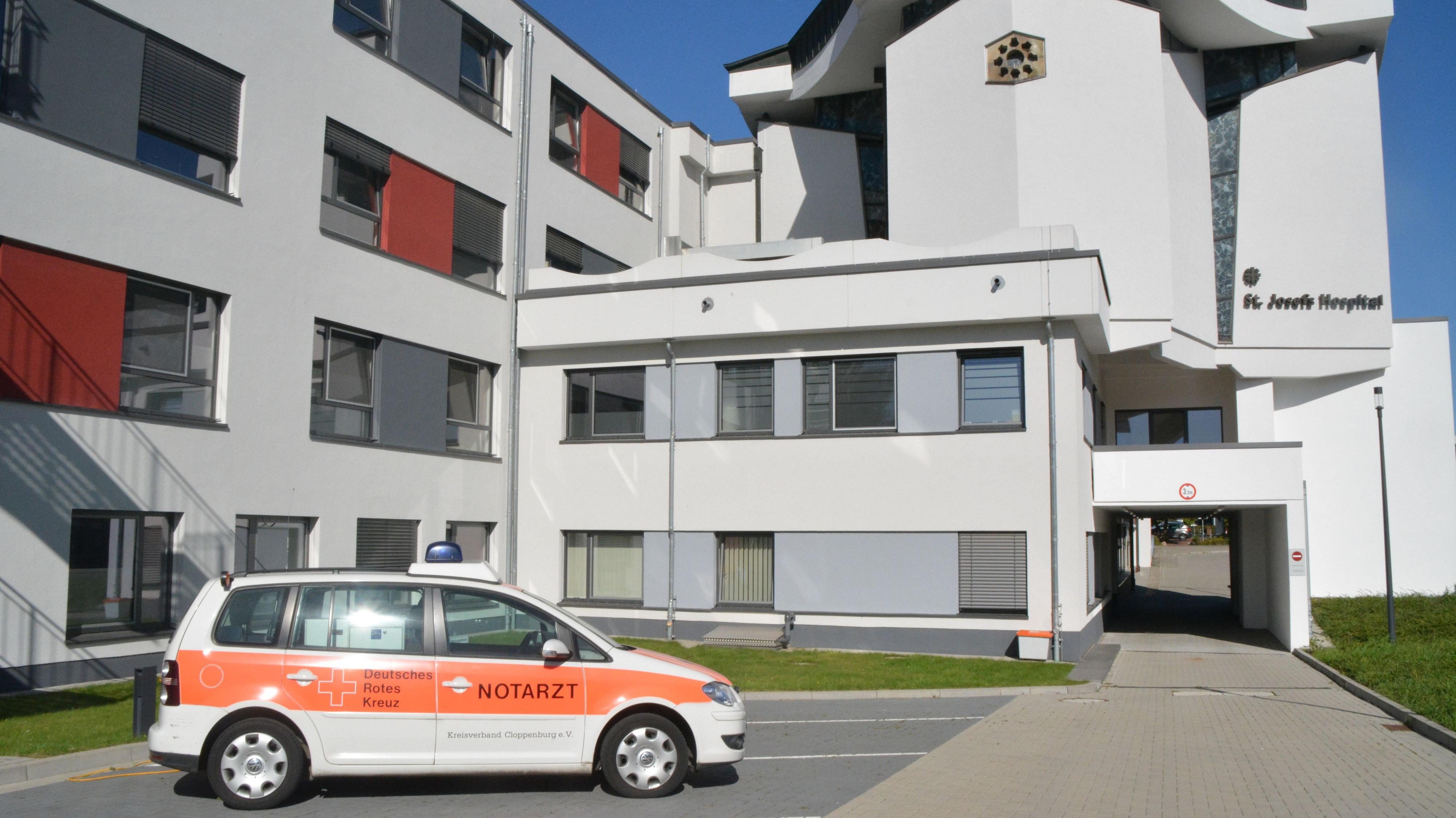 Risikolage minimieren: Das St. Josefs-Hospital in Cloppenburg sowie die beiden Kliniken in Löningen und Friesoythe erhalten eine Fristverlängerung für die Ausfallbürgschaft vom Landkreis Cloppenburg. Foto: Archiv