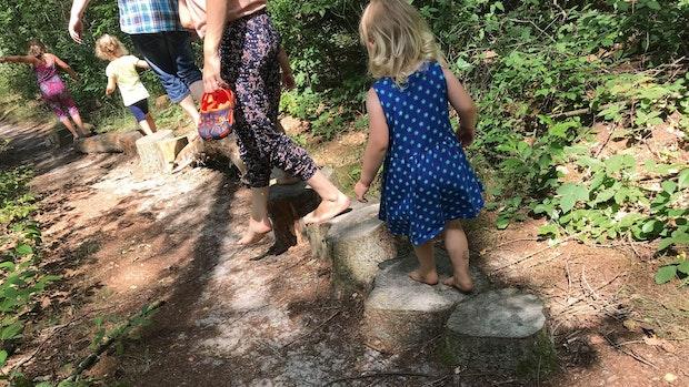 Aus dem Wald ins Kanu und wieder zurück