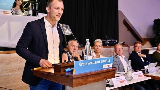 André Hüttemeyer ist neuer Chef der CDU im Kreis Vechta