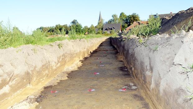 Doch Siedlungsspuren am Ortsrand gefunden