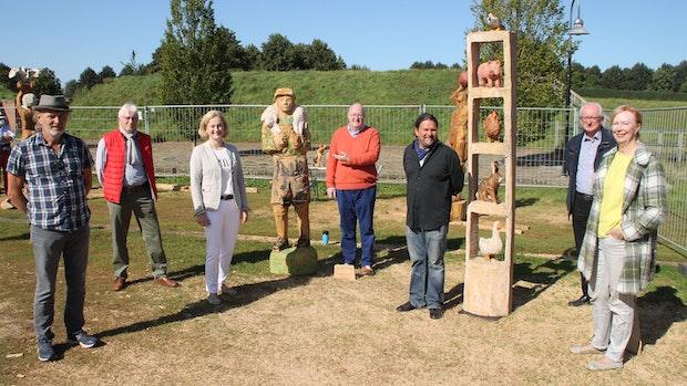 Bildhauer-Symposium ein voller Erfolg