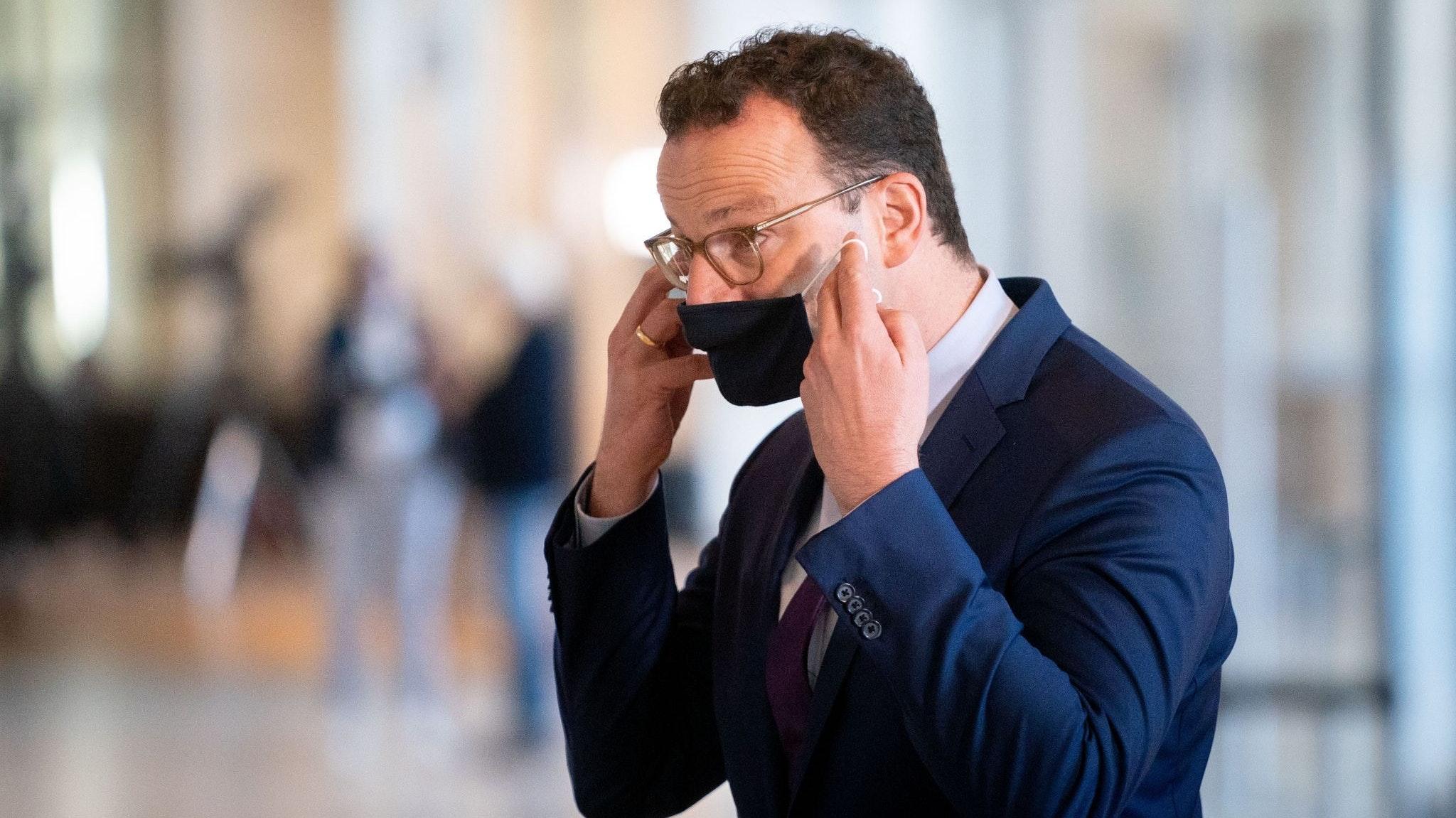 Gesundheitsminister Jens Spahn Foto: dpa