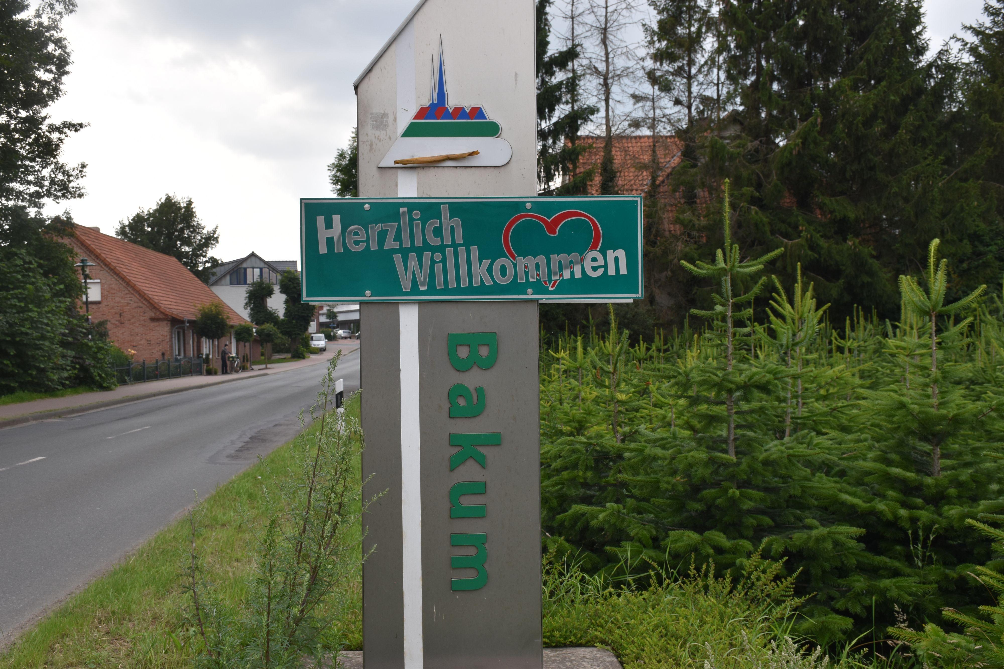 Die größte Ortschaft in der Gemeinde ist Bakum selbst mit 2974 Einwohnern. Fotos: Kessen