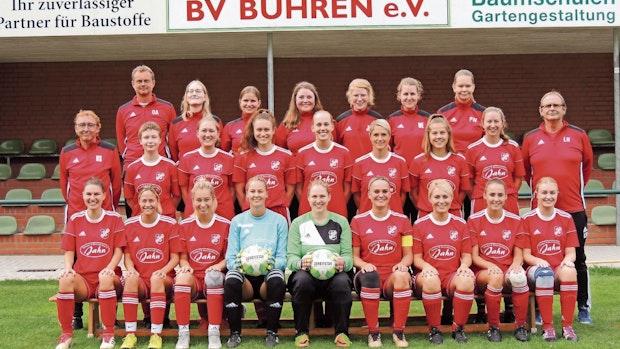 Höhenflug der Bührener Fußballfrauen