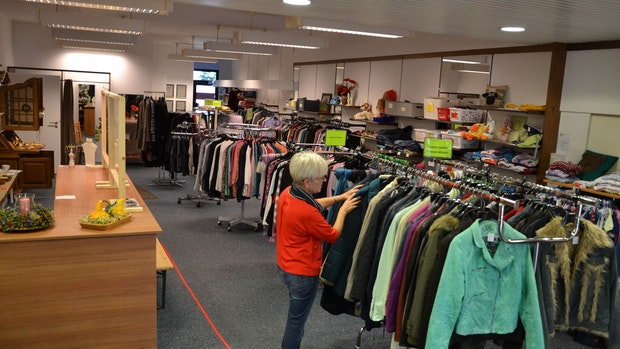 Soziales Kaufhaus bereitet sich auf den Winter vor