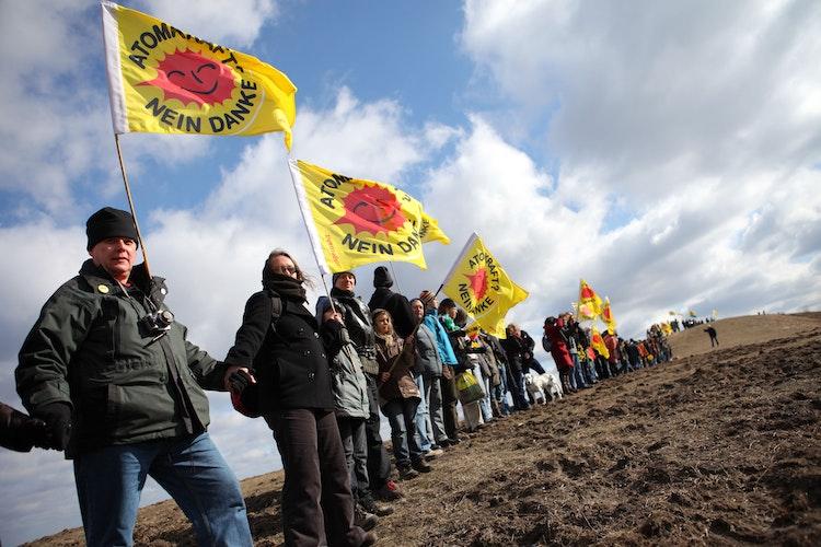 Proteste wie hier in Gorleben haben dazu geführt, dass die Suche nach einem Atommüll-Endlager neu gestartet wurde. Foto: ausgestrahltHuber