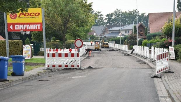 """Großbaustelle"" Dinklage: Bald ist es geschafft"