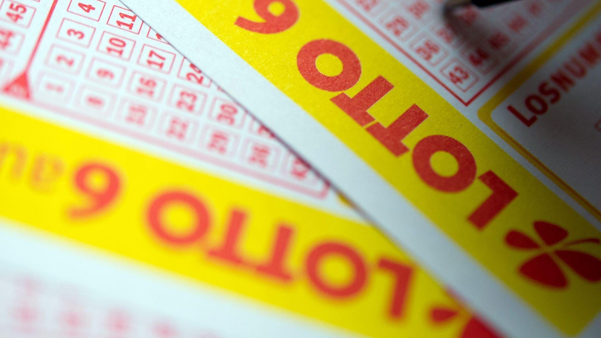 Lottoglück in Niedersachsen: Im Kreis Diepholz gewann am vergangenen Samstag ein Lottospieler mehr als 3,8 Millionen Euro. Foto. dpa