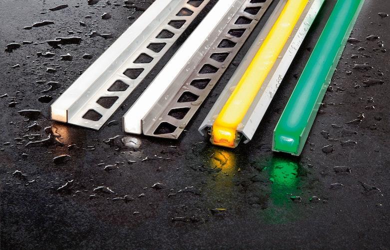 Die LED-Module bestehen aus hochwertigen Aluminium- oder Edelstahlprofilen sowie einem flexiblen, voll ummantelten Lichtschlauch. Foto: eprSchlüter-Systems