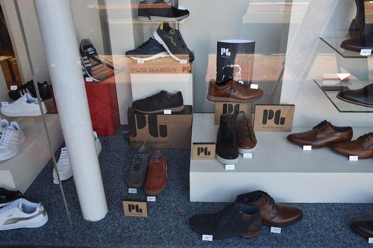 Eigenständig im Design, kompromisslos in der Qualität: Pius Gabor ist die neue Marke im Schuh- und Sportnaus Niemann. Foto: Klöker