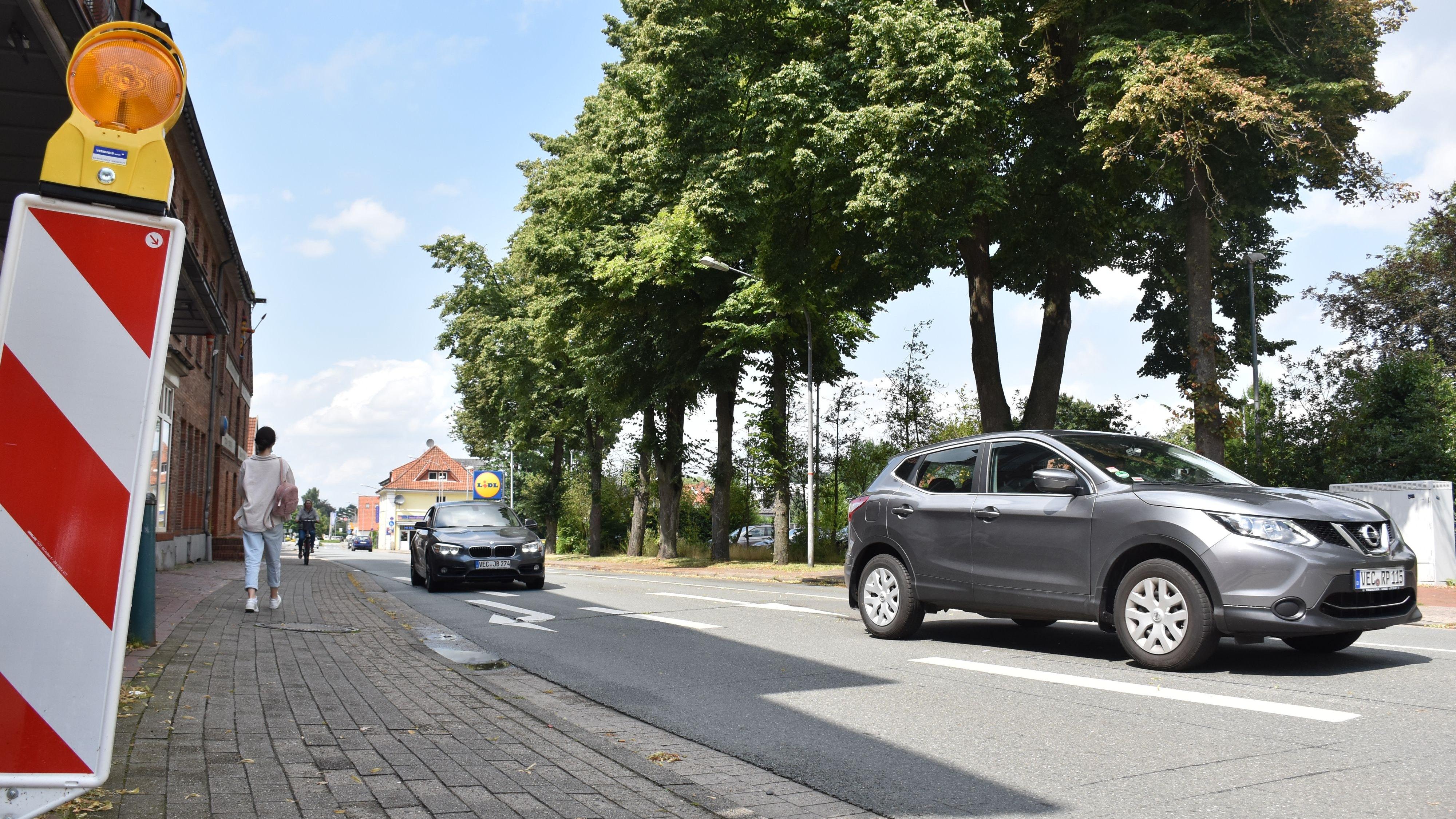 Baustart in der 2. Jahreshälfte 2022: Nach dem Ende der Arbeiten an der Steinfelder Straße soll der Ausbau der Keetstraße in der Innenstadt beginnen. Die Ausschreibungen für das Projekt erfolgen voraussichtlich im Frühjahr 2022. Foto: Timphaus