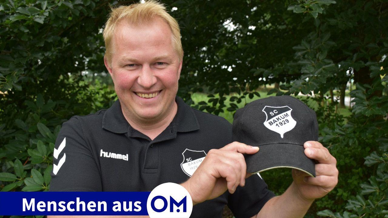Für den SC Bakum setzt er sich ein: Ingo Duin spielte viele Jahre in der 1. Herrenmannschaft und wirkt seit 2018 im Vorstand des Vereins. Foto: Klöker