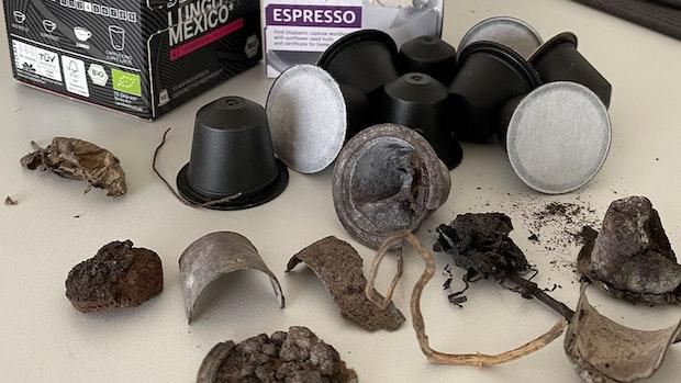 Kompostierbare Kapseln stoßen an bürokratische Grenzen