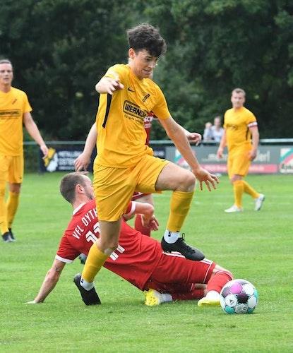 Pflichtspielstart im Pokal: Nico Thoben gastiert mit dem SV Bevern bei BW Lüsche. Foto: Wulfers