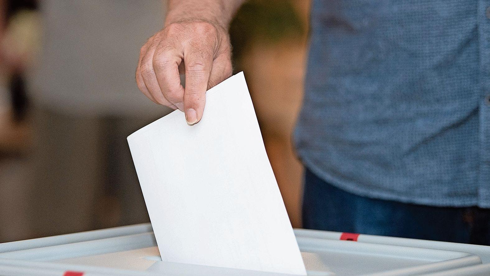 Freie Entscheidung: Am 26. September wird ein neuer Bundestag gewählt. Foto: dpa <br>