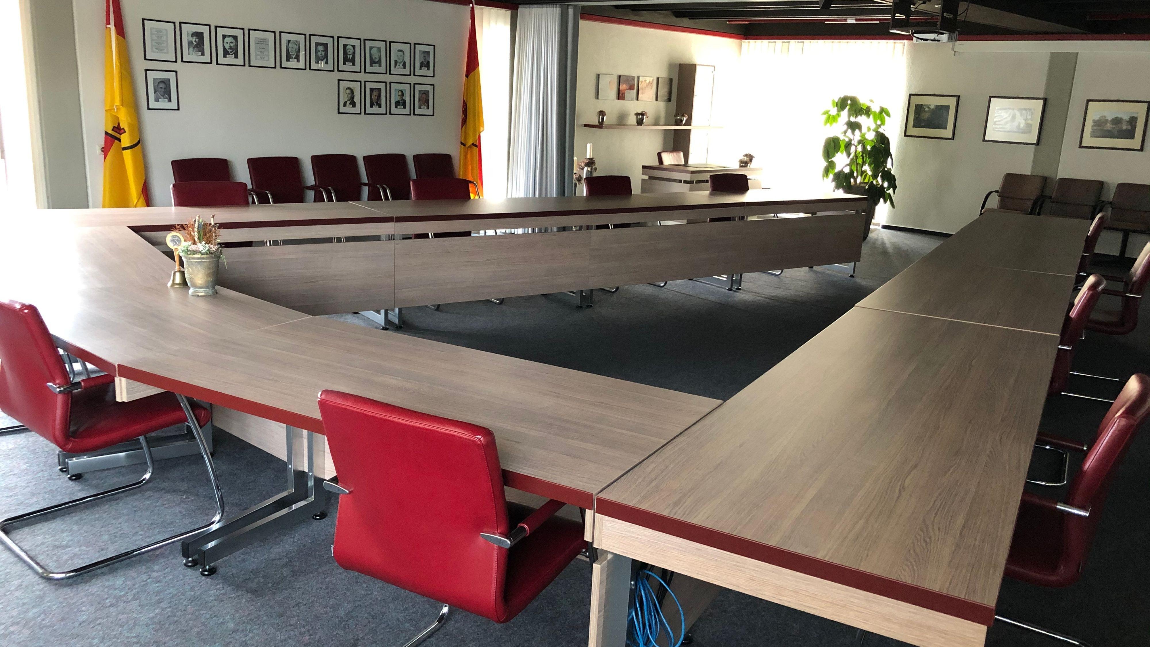 Hier wird getagt: Für die Arbeit im Rat kandidieren 52 Personen – so viele, wie noch nie. Foto: Böckmann