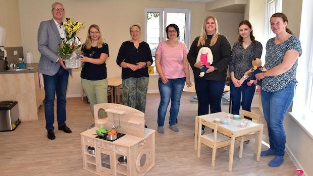 Neue Kindertagesstätte St. Christophorus: Kleine und Große fühlen sich pudelwohl