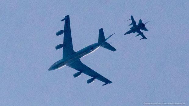 Die Bundeswehr übt über dem Landkreis Vechta das Betanken in der Luft