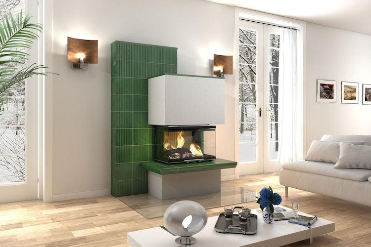 Krisensichere Investition in den eigenen Besitz: Bei modernen Holzfeuerstätten gibt es eine Vielzahl an Designvarianten. Foto: djdAdKwww.kachelofenwelt.deGutbrod