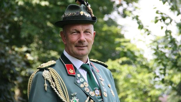 Schützenpräsident engagiert sich seit 40 Jahren ehrenamtlich