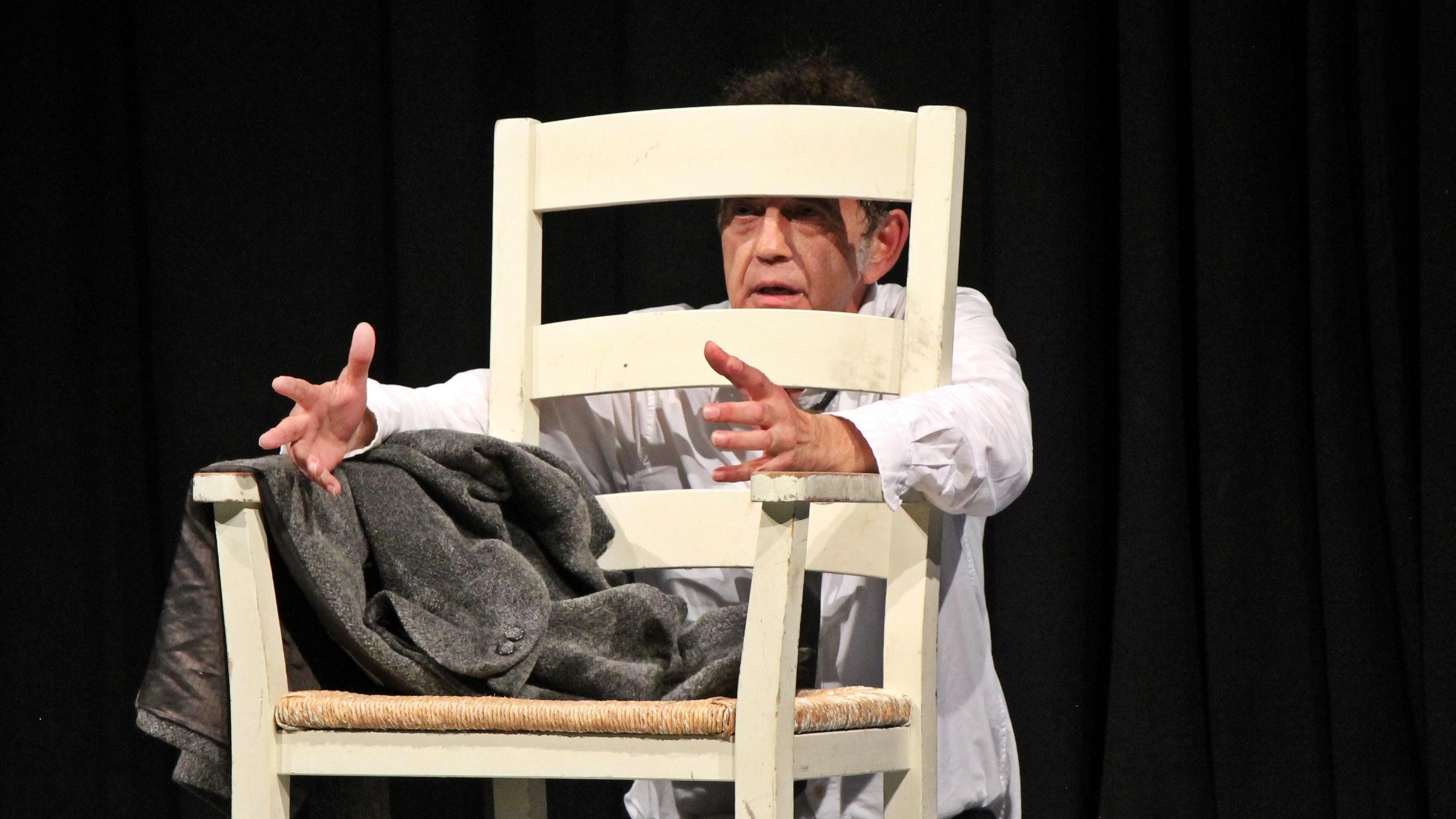 Überzeugend: Reinhard Gesse spielte mit viel Einfühlungsvermögen die Rolle des Missbrauchsopfers Kristian.  Foto: Oevermann