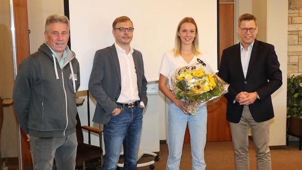 Die Stadt Löningen empfängt Olympia-Läuferin Lea Meyer