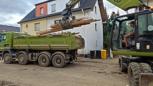 Hilfswelle aus Südkreis Vechta für Ahr-Flutopfer reißt nicht ab