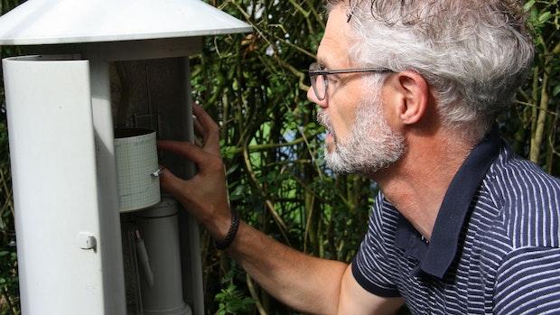 Josef Blömer ist seit 40 Jahren Wetterfrosch