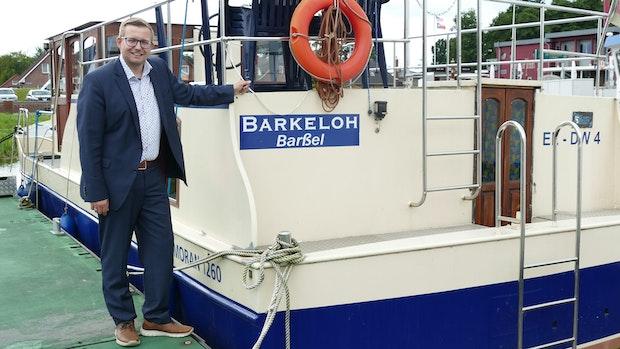 Für Nils Anhuth ist Barßels Hafen ein positiver Hotspot