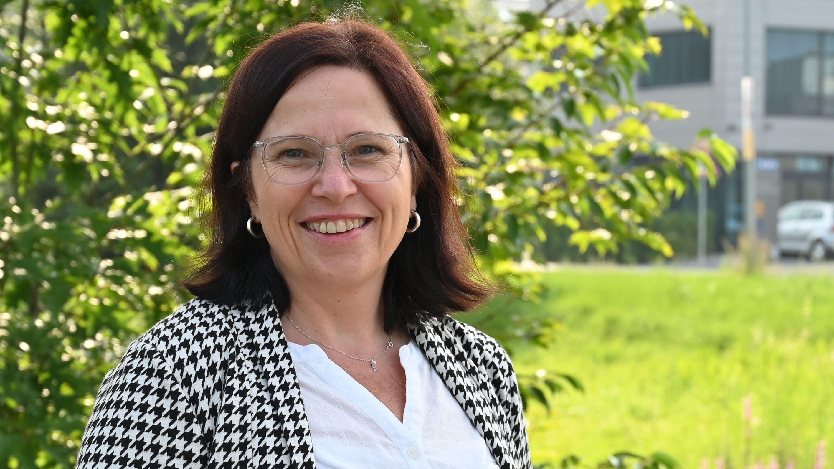 Möchte Bürgermeisterin werden: Christiane Priester. Foto: Hermes