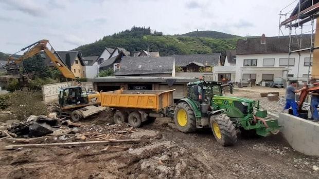 """Das """"A-Team von Vechta"""" hilft den Flutopfern in Rheinland-Pfalz"""