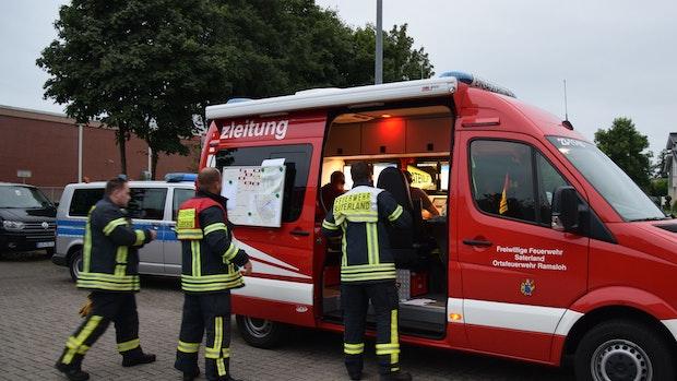 Rettungskräfte können vermissten Mann schnell finden