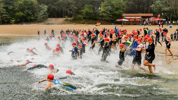 Triathlon Heidesee erlebt sein Comeback