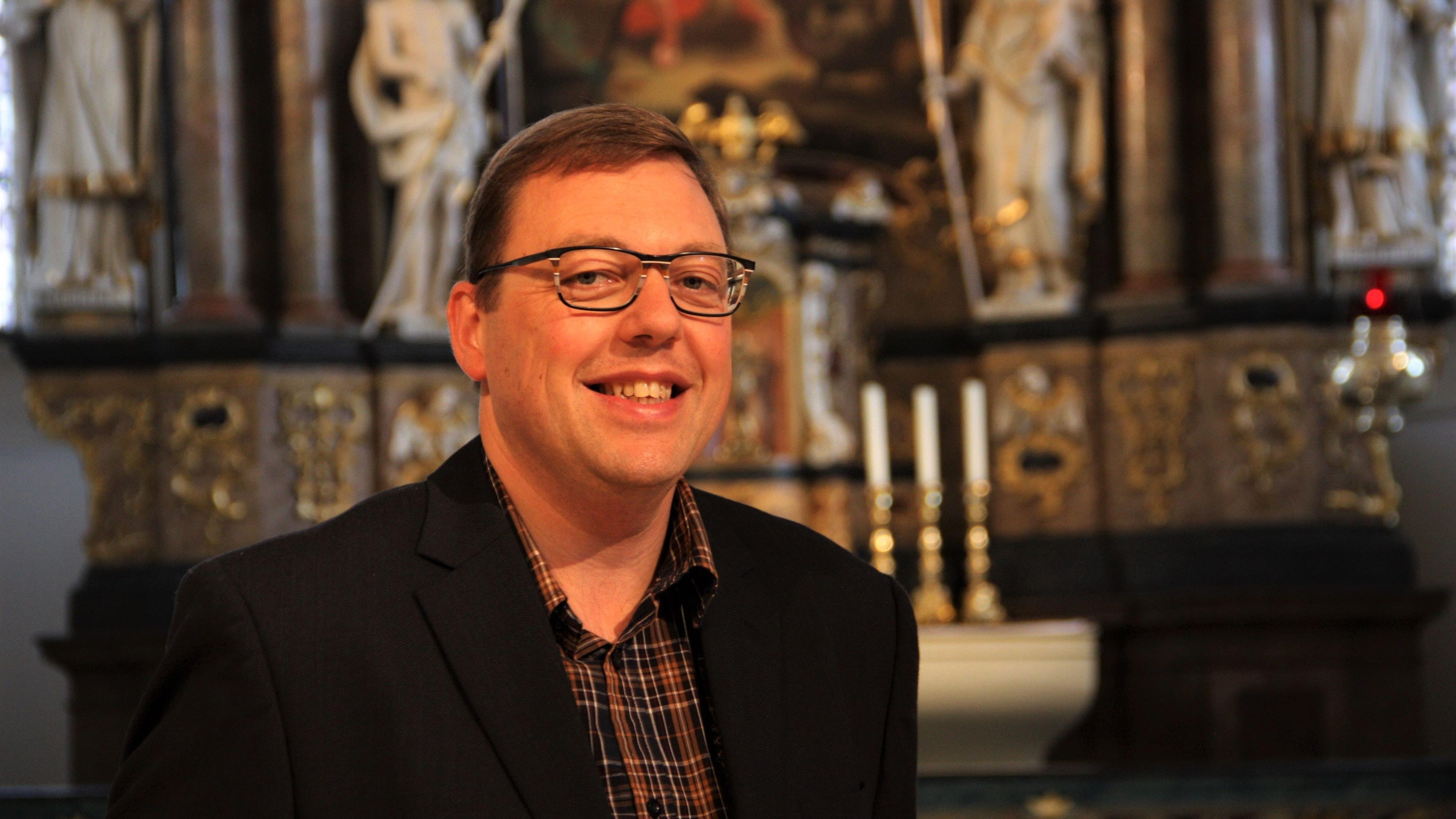 Pastoralreferent Mirco Spieker. Foto: Bernhardt