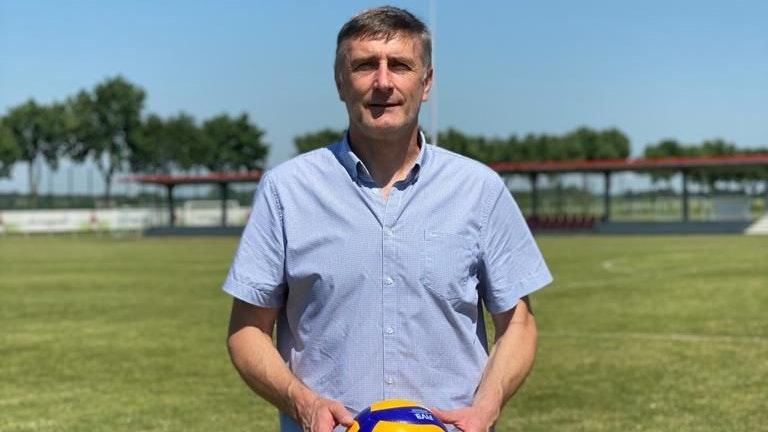 Training läuft: VfL-Coach Zoran Nikolic. Foto: VfL Oythe