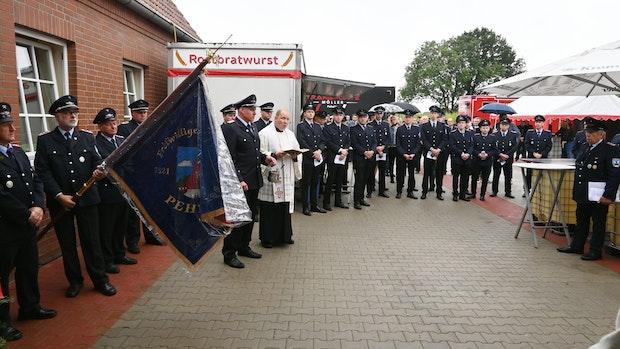 Feuerwehr ist seit 100 Jahren für die Peheimer im Einsatz