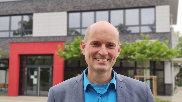 So will der neue Rektor Stefan Fiebig das Profil der Oberschule schärfen