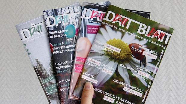 """Unizeitung """"Datt Blatt"""" feiert 5. Geburtstag"""