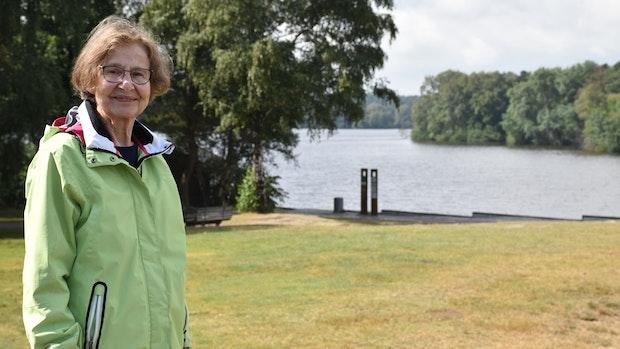 Roswitha Krause ist gerne als Gästeführerin unterwegs